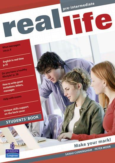 Cunningham Sarah: Real Life Pre-Intermediate Students´ Book