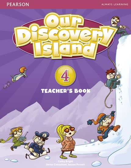Bright Catherine: Our Discovery Island 4 Teacher´s Book plus PIN code