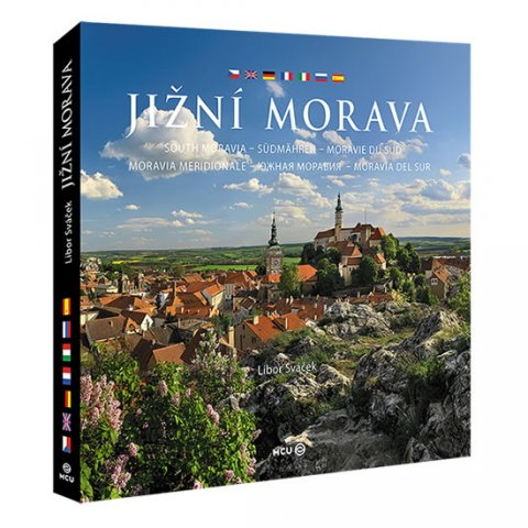 Sváček Libor: Jižní Morava - velká / vícejazyčná