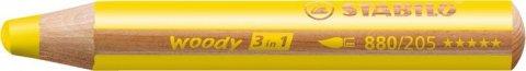 neuveden: Pastelka STABILO Woody 3v1 žlutá