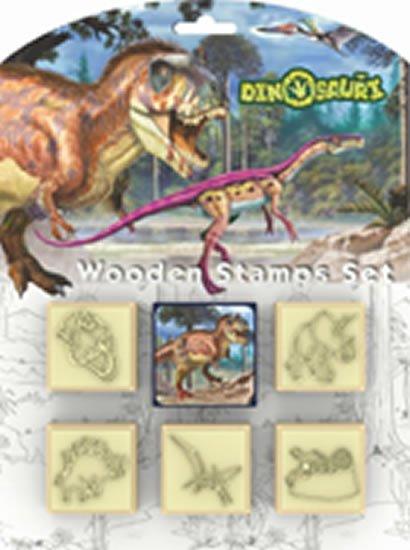 neuveden: Dinosauři - Razítka 5+1