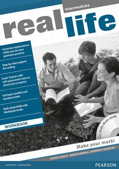 Reilly Patricia: Real Life Intermediate Workbook w/ Multi-Rom Pack