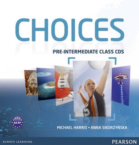Harris Michael: Choices Pre-Intermediate Class CDs 1-6