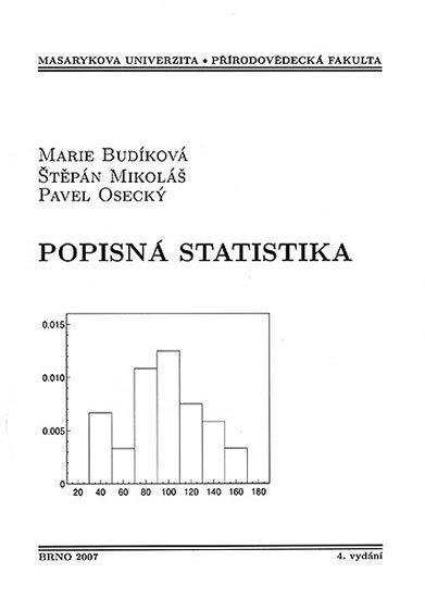 Budíková Marie: Popisná statistika