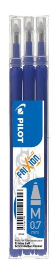 neuveden: PILOT náplň FriXion 07 modrá-sada 3ks