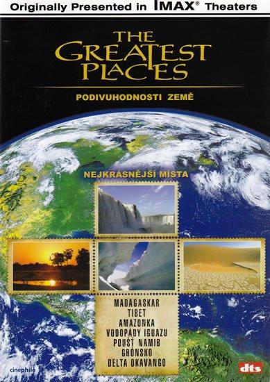 neuveden: Nejkrásnější místa - Podivuhodnosti Země - DVD