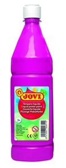 neuveden: JOVI temperová barva 1000ml v lahvi růžová