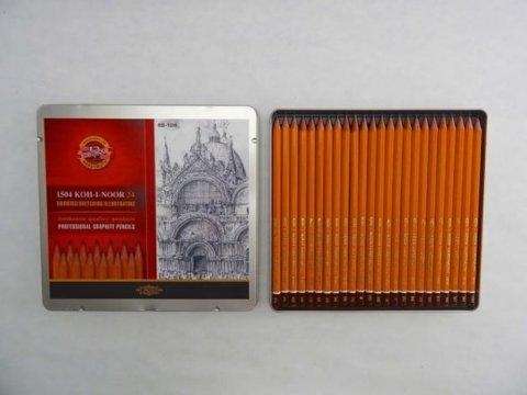neuveden: Koh-i-noor souprava grafitových tužek 24 ks
