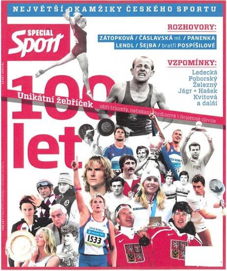 kolektiv autorů: Sport Speciál - 100 let - Největší okamžiky českého sportu