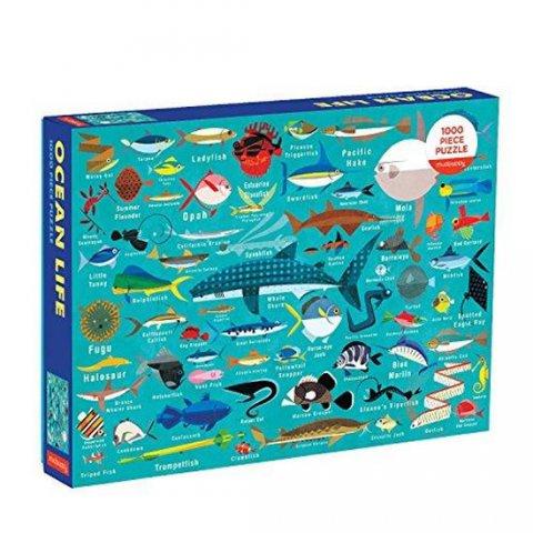 neuveden: Puzzle: Ocean Life/Podmořský svět (1000 dílků)