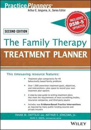 Jongsma E.: The Family Therapy Treatment Planner