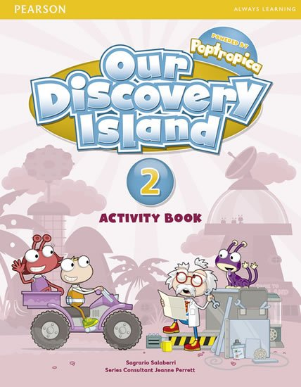Saslow Joan M., Ascher Allen: Our Discovery Island 2 Activity Book w/ CD-ROM Pack
