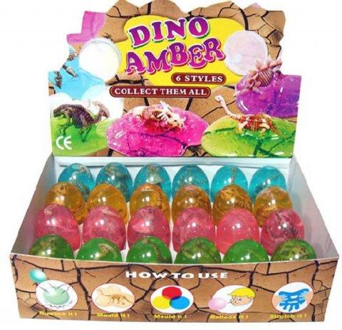 neuveden: Sliz ve vajíčku-dinosaurus, display 24 k