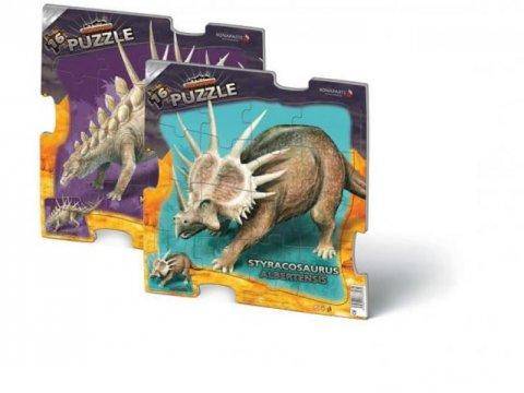 neuveden: Puzzle 16 deskové - Prehistoric (2 druhy)