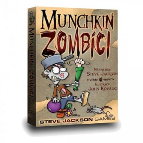 neuveden: Munchkin/Zombíci - Karetní hra
