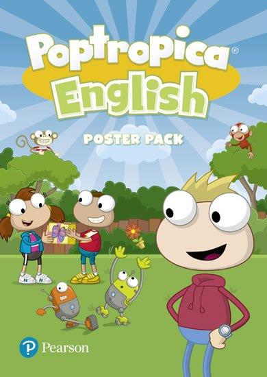 Lochowski Tessa: Poptropica English Poster Pack