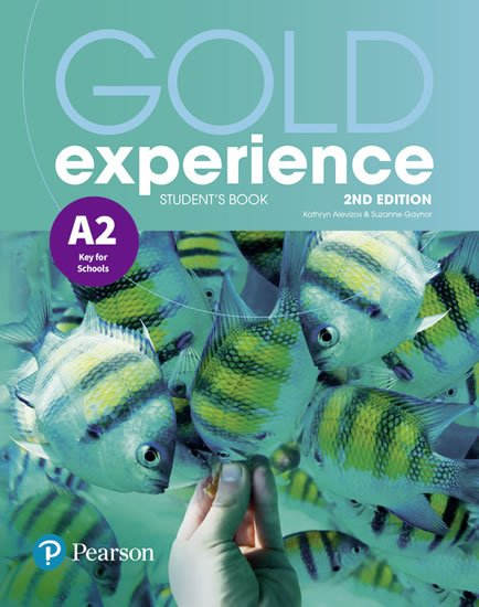 Alevizos Kathryn, Gaynor Suzanne: Gold Experience 2nd Edition A2 Students´ Book
