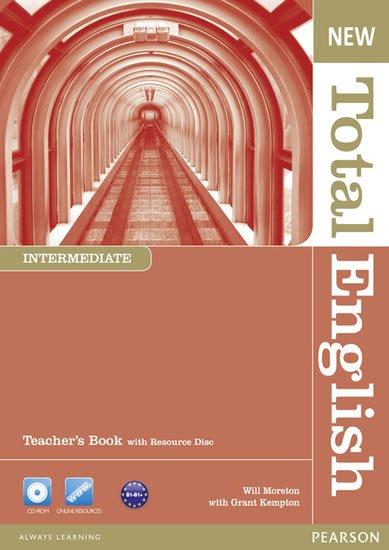 Moreton Will: New Total English Intermediate Teacher´s Book w/ Teacher´s Resource CD Pack