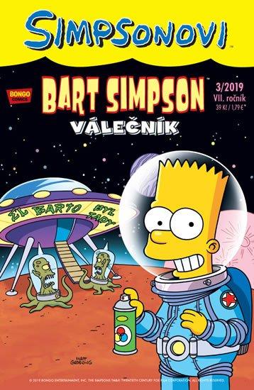kolektiv autorů: Simpsonovi - Bart Simpson 3/2019 - Válečník