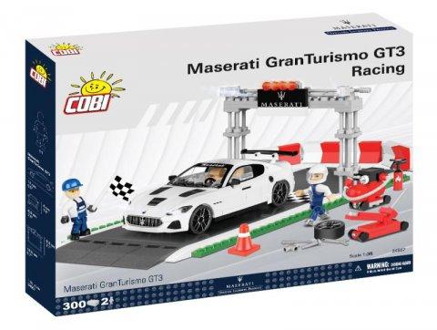 neuveden: Stavebnice COBI - MASERATI GRAN TURISMO GT3 Racing set. 300 kostek, 2 figur