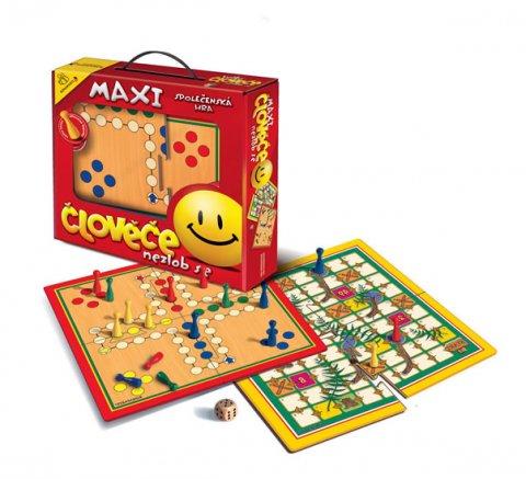 neuveden: Společenská hra - Maxi Člověče nezlob se/Velké putování