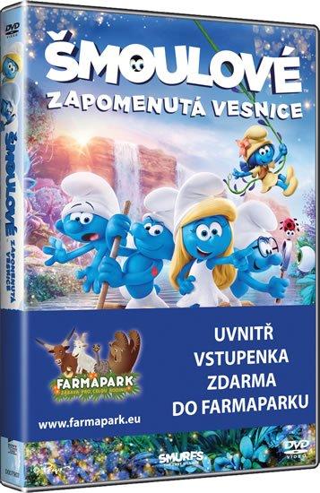 neuveden: Šmoulové: Zapomenutá vesnice - DVD