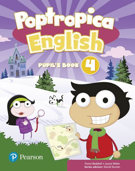 Erocak Linnette: Poptropica English 4 Pupil´s Book and Online World Access Code Pack