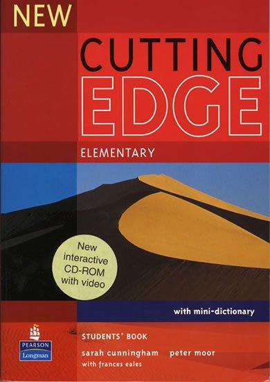 Cunningham Sarah: New Cutting Edge Elementary Students´ Book w/ CD-ROM Pack