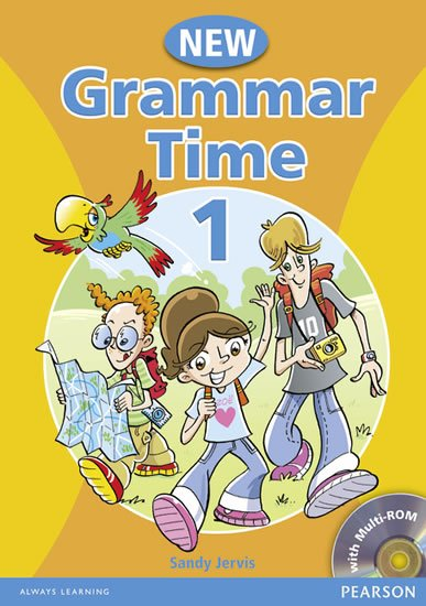 Jervis Sandy: Grammar Time New Edition 1 Students´ Book Pack