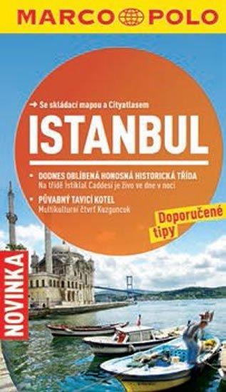 neuveden: Istanbul - Průvodce se skládací mapou