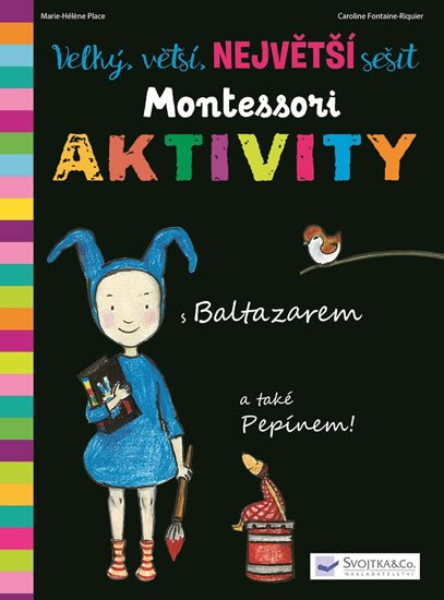 neuveden: Velký, vetší, největší sešit Montessori aktivity