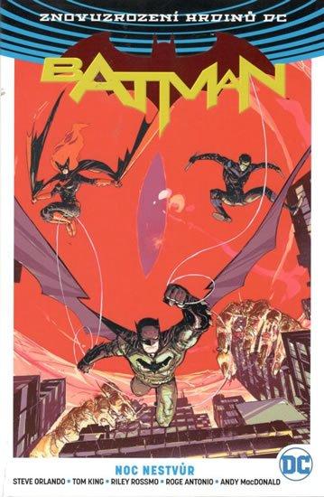 Orlando Steve: Batman - Noc nestvůr
