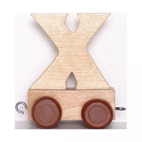 neuveden: Vagónek X - hnědá kolečka
