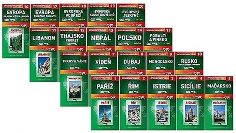 neuveden: Na cestách kolem světa 1 - 20 DVD