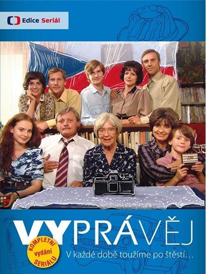 neuveden: Vyprávěj - 34 DVD (box komplet)