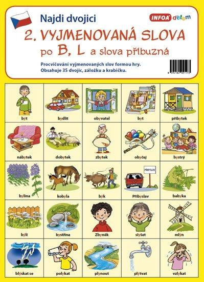 kolektiv autorů: Najdi dvojici - 2. Vyjmenovaná slova po B, L a slova příbuzná