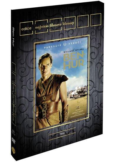neuveden: Ben Hur: Výroční edice 2DVD - Edice Filmové klenoty