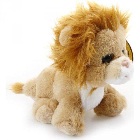 neuveden: Mazlíci plyšové zvířátko Lev 17 cm