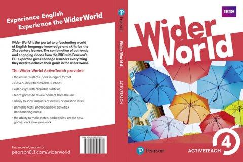 neuveden: Wider World 4 Teacher´s ActiveTeach