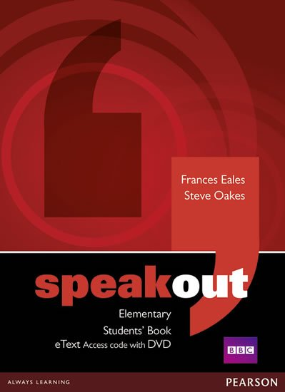 Eales Frances: Speakout Elementary Students´ Book eText Access Card w/ DVD