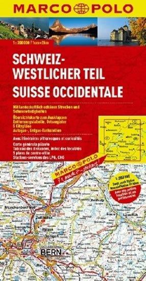 neuveden: Švýcarsko 1 - západ/mapa