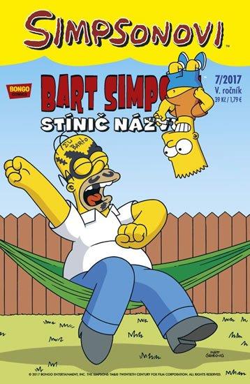 Groening Matt: Simpsonovi - Bart Simpson 7/2017 - Stínič názvu