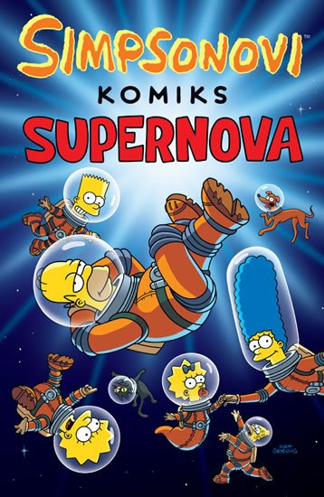 Groening Matt: Simpsonovi - Supernova