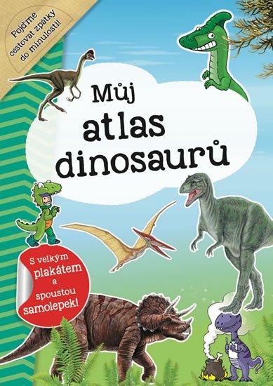 neuveden: Můj atlas dinosaurů + plakát a samolepky