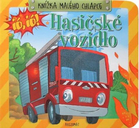 Podgórska Anna: Knížka malého chlapce - Hasičské vozidlo