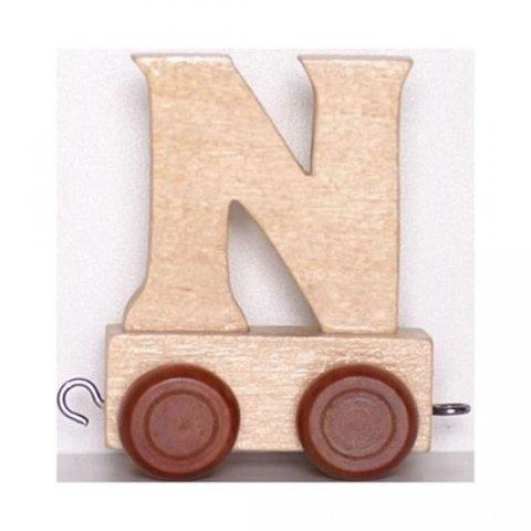 neuveden: Vagónek N - hnědá kolečka
