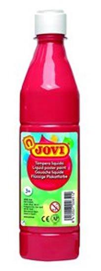 neuveden: JOVI temperová barva 500ml v lahvi červená