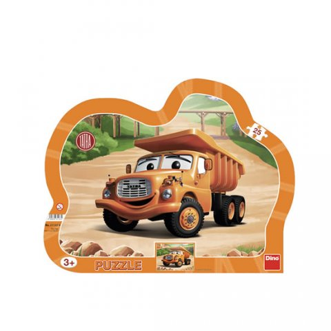 neuveden: Tatra: puzzle deskové 25 dílků