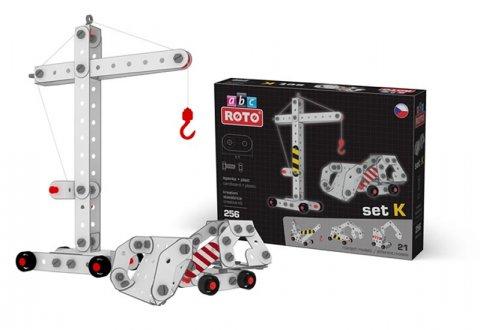 neuveden: ROTO ABC - Stroje, set K