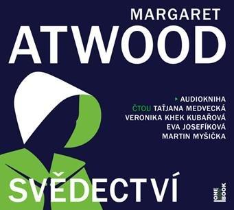 Atwoodová Margaret: Svědectví - 2 CDmp3
